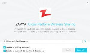 Enlarge Zapya Screenshot