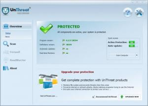 Enlarge UnThreat AntiVirus Screenshot