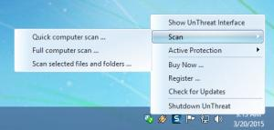 Enlarge UnThreat AntiVirus Screenshot