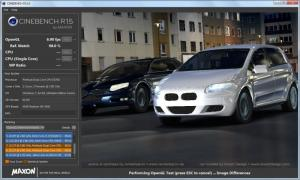 Enlarge MAXON CINEBENCH Screenshot
