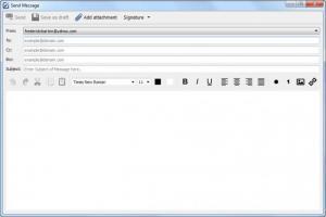 Enlarge ShazzleMail Screenshot