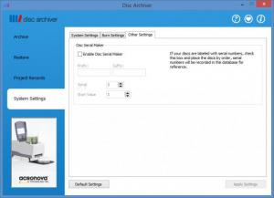Enlarge Disc Archiver Screenshot