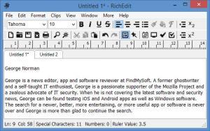 Enlarge RichEdit Screenshot