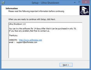 Enlarge Ultra Shutdown Screenshot