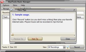 Enlarge MuzToolz Music Manager Screenshot