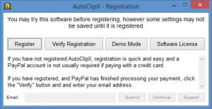 Enlarge AutoClipX Screenshot