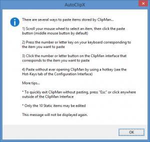 Enlarge AutoClipX Screenshot