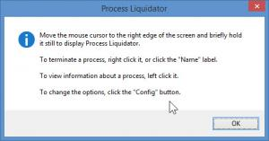 Enlarge Process Liquidator Screenshot