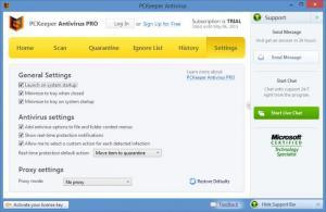 Enlarge PCKeeper Antivirus Screenshot