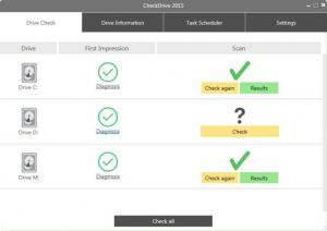 Enlarge CheckDrive Screenshot
