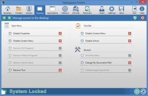 Enlarge NetSupport Protect Screenshot