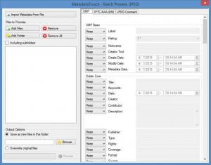 Enlarge MetadataTouch Screenshot