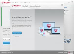 Enlarge McAfee LiveSafe Screenshot