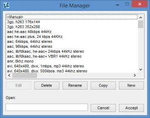 Enlarge Libre AV Converter Screenshot