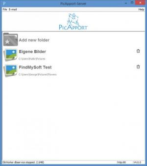 Enlarge PicApport Screenshot