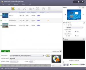 Enlarge Xilisoft DVD Creator Screenshot