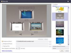Enlarge Xilisoft DVD Creator Screenshot