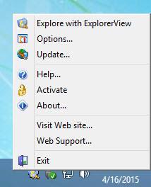 Enlarge Explorer View Screenshot