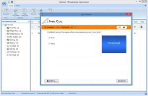Enlarge Wondershare QuizCreator Screenshot