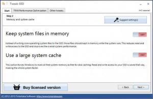 Enlarge Tweak-SSD Screenshot