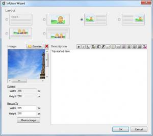 Enlarge Interactive Image Creator Screenshot