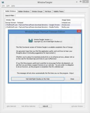 Enlarge WindowTangler Screenshot