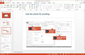 Enlarge SlideProof Screenshot