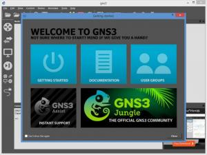 Enlarge GNS3 Screenshot