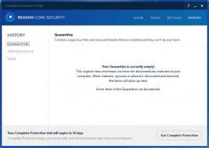 Enlarge Reason Core Security Screenshot
