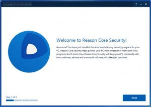 Enlarge Reason Core Security Screenshot