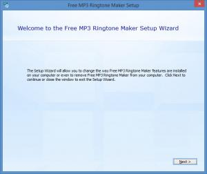Enlarge Free MP3 Ringtone Maker Screenshot