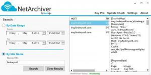 Enlarge EasySync NetArchiver Screenshot