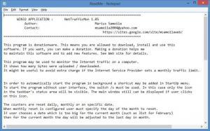 Enlarge Network Traffic Monitor Screenshot