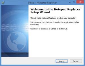 Enlarge Notepad Replacer Screenshot