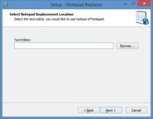 Enlarge Notepad Replacer Screenshot
