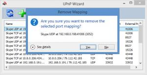 Enlarge UPnP Wizard Screenshot