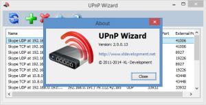 Enlarge UPnP Wizard Screenshot