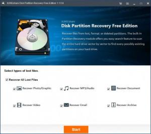 Enlarge Disk Partition Recovery Screenshot