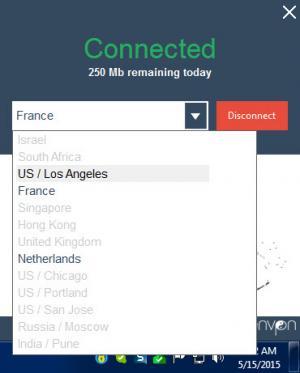 Enlarge ZenVPN Screenshot