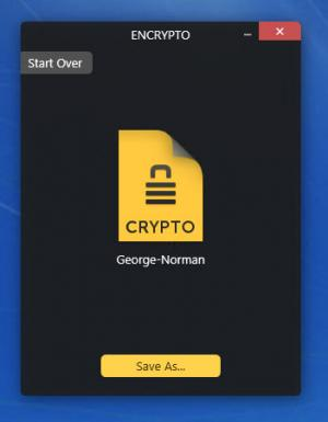Enlarge Encrypto Screenshot