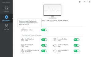 Enlarge Baidu Cleaner Screenshot