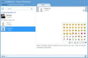 Enlarge Output Messenger Client Screenshot