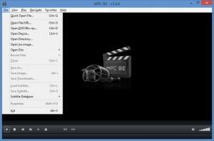 Enlarge Media Player Classic Black Edition Screenshot