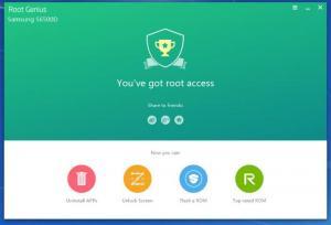 Enlarge Root Genius Screenshot