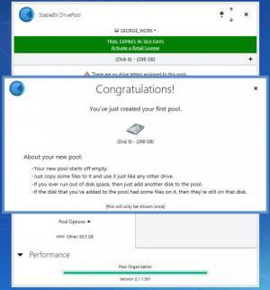 Enlarge StableBit DrivePool Screenshot