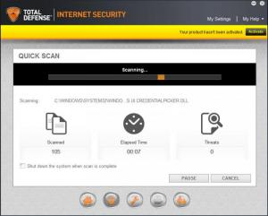 Enlarge Total Defense Internet Security Suite Screenshot