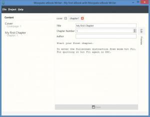 Enlarge Moopato eBook Writer Screenshot