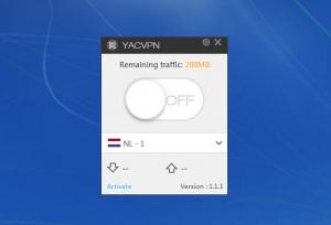 Enlarge YAC VPN Screenshot