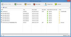 Enlarge NTFS Permissions Tools Screenshot