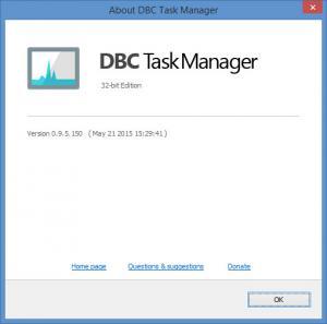 Enlarge DBC Task Manager Screenshot